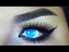 Phantasee Glow UV Electric Blue - Pinky Paradise | DaniRayeMakeup - YouTube