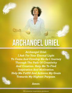 Archangel Prayers, Archangel Uriel, St Raphael, Angel Guide, Angel Numbers, Angel Pictures, Angel Cards, Bible Prayers, Morning Prayers