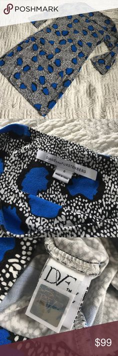 "Diane von Furstenberg Rari Printed Shift Dress Gorgeous and comfortable dress! Shown in differen colors in the stock photos. Length 32"". Bust 17"". Waist 15"". Hips 17.75"". Seen on Mindy kaling in a floral print. Offers welcome through offer tab. No trades. Diane von Furstenberg Dresses Mini"