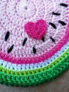 watermelon crochet