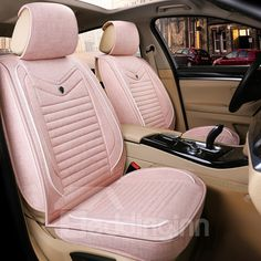 Classy and fashion Universal Fit Seat Covers online shopping site Girly Car Seat Covers, Leather Car Seat Covers, Car Covers, Truck Covers, Pink Car Interior, Car Interior Decor, Boat Interior, Luxury Interior, Interior Ideas