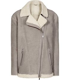Pacy Aviator Jacket by Reiss Shearling Jacket, Leather Jacket, Aviator Jackets, Jackets For Women, Clothes For Women, Brown Jacket, Reiss, Trendy Outfits, High Fashion
