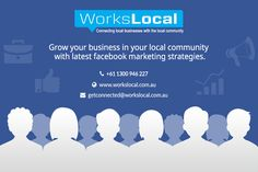Workslocal provides you amazing Facebook marketing strategies & tips to improve leads and increase your business presence on the internet. Growing your business can be easy with the right marketing strategy. They offer various services like paying Facebook Marketing, social media marketing, promotional products, local area marketing. Their Professional teams are maintaining the Facebook strategies, solving the problems and fulfill the customers' requirements.