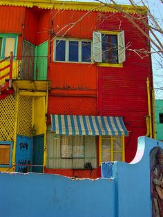 I would love to go to La Boca, Buenos Aires, Argentina. #ViventuraPinYourWayToSouthAmerica