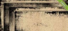 10 Free Grunge Frames - Free PSD Files