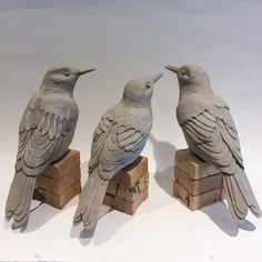 New Photographs Sculpture Clay design Strategies There are several varieties of clay courts useful for statue, most various in terms of managing and finish. Clay Birds, Ceramic Birds, Ceramic Animals, Ceramic Pottery, Pottery Art, Ceramic Art, Pottery Animals, Slab Pottery, Thrown Pottery