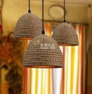 34 Brilliant Diy Wood Chandelier Design Ideas That You Must Try - Classic designs are widely diverse and include Victorian, Edwardian, Revival, Tudor and many other styles. Each era has different defining characteris. Rope Crafts, Diy Home Crafts, Diy Home Decor, Tree Lanterns, Deco Luminaire, Creation Deco, Diy Chandelier, Wood Lamps, Glass Lamps