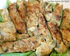 Zucchine ripiene alla ligure   cucinare con leggerezza