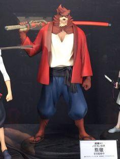 Des prototypes de figurines Le Garçon et la Bête (Bakemono no Ko)