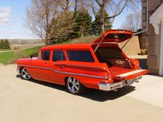 '58 Chevy Yeoman - just like the one my Dad and I own!