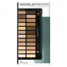 Models Prefer Complete Nudes Shadows Palette Tin Matte & Shimmer 30 g