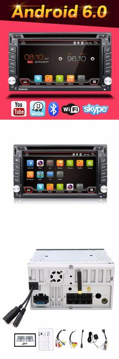 [Visit to Buy] 100% Android 6.0 Car Audio GPS Navigation 2DIN Car Stereo Radio Car GPS Bluetooth USB/Universal Interchangeable Player+8G MAP #Advertisement