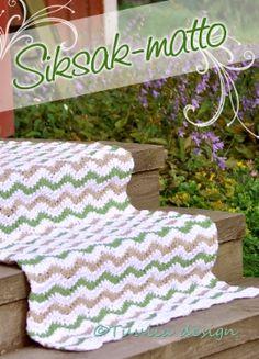 Virkkaus | Tuulia design. Iloa & Ideaa askarteluun ja käsitöihin! Marimekko, Crochet Hats, Blanket, Rugs, Knitting, How To Make, Crafts, Design, Amp