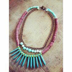 spiked out//www.theodosiajewelry.com