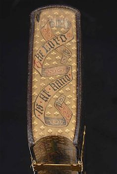 Fore-Edge Painting on Gauffered Edges  Picture credit David Brass Rare Books