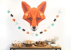 Dessert Table from Moonrise Kingdom Camp Party | Black Twine | But First Party