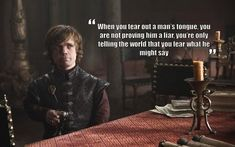 Game Of Thrones Quotes. QuotesGram Game Of Thrones Quotes Game Of Thrones Facts, Game Of Thrones Quotes, Game Of Thrones Funny, Game Thrones, Tyron Lannister, Lannister Tyrion, I Love Series, Tv Series, Fantasy
