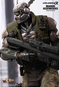 Hot Toys : Appleseed Alpha - Briareos Hecatonchires 1/6th scale Collectible Figure