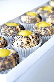 Här hos mig är allting glutenfritt:): Citrongrottor med vallmofrö