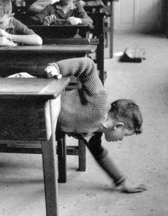 Robert Doisneau. School Pick Up 1956 http://www.gettyimages.co.uk/detail/news-photo/school-pick-up-1956-news-photo/121507549
