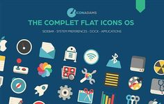 40+ Free Flat Icons To Download In Defferent Formats – PSD & Vector