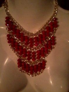 39bff6fcd842 67 mejores imágenes de collares de perlas cadena y cristal