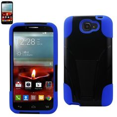 $8.99 Reiko Heavy Duty Stand Hybrid Case For Alcatel OneTouch Fierce 2 7040T