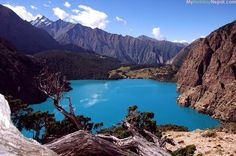 View from the Shey Phoksundo #Nepal