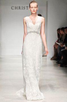 Christos wedding dress, Fall 2012