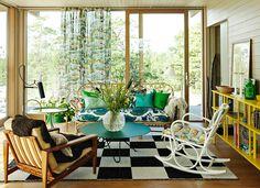 Svenskt Tenn's Design Studio Sommarhus Living Room