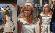 Scathingly Brilliant: Style Idol - Hayley Mills in The Moon-Spinners  LOVE THE COLLAR OF THE DRESS