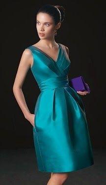 Patrón gratis vestido fiesta tallas grandes | Aprender manualidades es facilisimo.com
