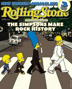This cover appeared on the November 28, 2002 issue of Rolling Stone. Cool.