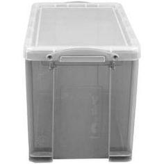 Really Useful Box Aufbewahrungsbox 190 L Transparent 395 X 255 X 290 Cm Really Usefulreally Usef In 2020 Box Transparent Home Maintenance