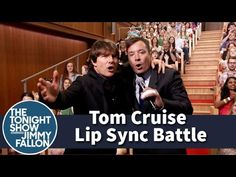 Jimmy Fallon & Tom Cruise Go Head-to-Head in Electrifying Lip Sync Battle on The Tonight Show