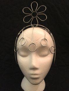 Simple Samba Flower Headdress Wire Frame Design - Custom Made / New by…
