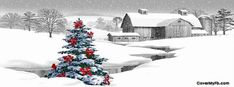 Christmas Farm Facebook Cover