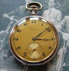 Antiques Atlas - A 1950s Longines Pocket Watch