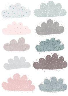Clouds illustration