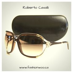 PreOwned Roberto Cavalli sunglasses 208$ USD or 275$ CAN. Shipping Throughout US and Canada! FashionWoo is a Online Shop that sell pre owned High end accessories #robertocavalli #preowned #onlineshop #onlineshopping #fashion Best Instagram Posts, Roberto Cavalli, Canada, Sunglasses, Accessories, Shopping, Fashion, Moda, Fashion Styles