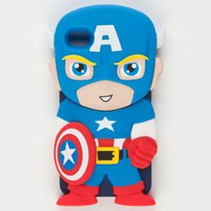 Captain America phone case for iPhone 4/4s!!! NEED