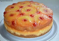 pineapple upside down cheesecake yum