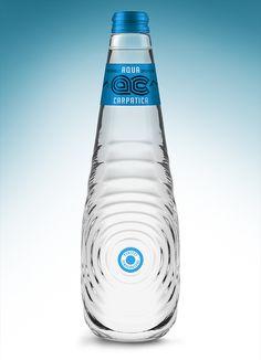 Aqua Carpatica by Marek Jagusiak on Packaging Design Served