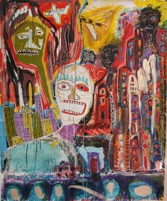 Rock Stone Magic Destiny by Michael Hoffee and Mikey Welsh, outsider art