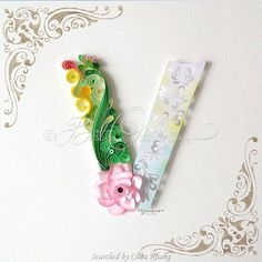 ©Best quilling- Quilled ABCs 1 (Searched by Châu Khang)