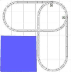 Track Plans and Ideas – Trainz Lionel Trains Layout, Lionel Train Sets, Ho Train Layouts, Model Training, N Scale Model Trains, Scale Models, Model Railway Track Plans, Hobby Trains, Lego Trains