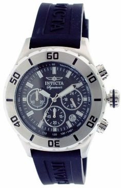 Invicta Signature II Chronograph Black Dial Mens Watch 7377 Invicta. $99.99. Chronograph Display. Steel Bracelet Strap
