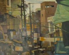 Shah-Mohalla, 2013, Oil on Canvas, 24 by 30 Inches