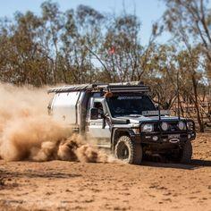 "Ronny Dahl on Instagram: ""Dust maker @torbs78.tp ripping through the Northern Territory's dusty trails 💨💨💨 #landcruiser #toyota #4wheeling #4wheelingaustralia…"" My Land, Dahl, Toyota Land Cruiser, Rigs, Dream Cars, 4x4, Monster Trucks, Vehicles, Instagram"