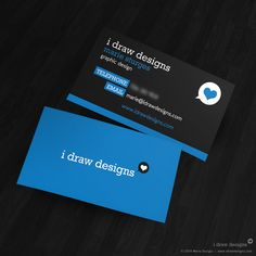 I Draw Designs Business Card - Business Cards - Creattica